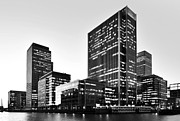 London Canary Wharf Print by Marek Stepan