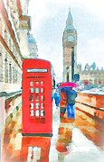 Old Europe Digital Art - London City Life 2 by Yury Malkov