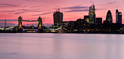 London Skyline Art - London City Skyline by Matthew Train