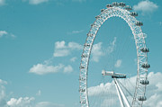 Cute Print Prints - London Eye Print by Daniel Kocian