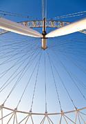 London Eye Geometry Print by Adam Pender