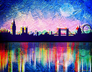 Mark Ashkenazi - London in blue