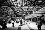 Main Line Framed Prints - London Liverpool Street Main Line Railway Station England Uk Framed Print by Joe Fox