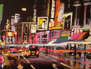 Paul Mitchell Art - London Neon by Paul Mitchell