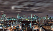 Giclée Fine Art Framed Prints - London Nights 2 Framed Print by Jason Green