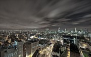 Printed Prints - London Nights Print by Jason Green