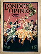 Covers Drawings Prints - London Opinion 1919 1910s Uk First Print by The Advertising Archives