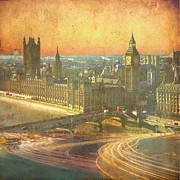 Featured Mixed Media Posters - London Parkway Poster by Andrew Sullivan