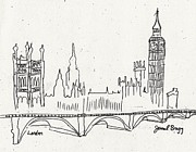 Janel Bragg - London Sketch