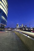 London Sky 4 Print by Mariusz Czajkowski