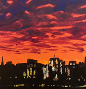 Paul Mitchell Art - London Skyline 2 by Paul Mitchell