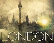 At Poster Digital Art - London Time by Edmund Nagele