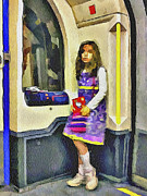 Old Town Digital Art - London Underground 2 by Yury Malkov