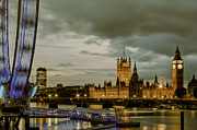 London Skyline Art - London Westminster by Dawn OConnor