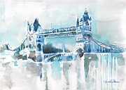 London Print Originals - Londres- Tower Bridge by Ahmed Abbas