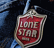 Levi Posters - Lone Star Beer II Poster by Bill Owen