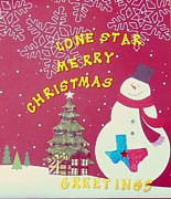 Presents Originals - Lone Star Christmas Snowman by William  Bennett