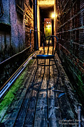Christopher Holmes Photography Framed Prints - Lonely Alley Framed Print by Christopher Holmes