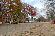 Historic Buildings Prints - Lonely Colonial Williamsburg Print by Olivier Le Queinec