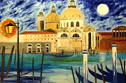 Gondolier Originals - Lonely gondolier by Mariana Stauffer