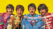 Sgt Peppers Metal Prints - Lonely Hearts Club Band Metal Print by Scouse  Arthouse