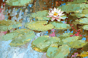 Water Jug Art - Lonely Lily by Dmitry Spiros
