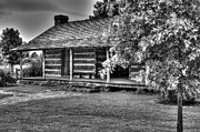 Log Cabin Photos - Lonely Log Cabin by Douglas Barnett