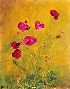 Teresa Wegrzyn - Lonely Poppies