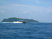 Sun Photo Prints - Long Boat Tour - Phi Phi Island - 0113204 Print by DC Photographer