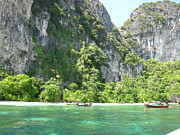 Asia Art - Long Boat Tour - Phi Phi Island - 0113210 by DC Photographer