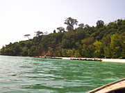 Ocean Photo Prints - Long Boat Tour - Phi Phi Island - 0113216 Print by DC Photographer