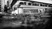 Street View Framed Prints - Long exposure Framed Print by Kam Chuen Dung