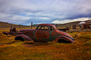 Rusted Cars Framed Prints - Long Forgotten Framed Print by Garry Gay