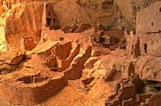 Mesa Verde Photos - Long House Ruins by Adam Jewell