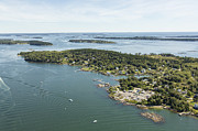 Casco Bay Posters - Long Island, Casco Bay Poster by Dave Cleaveland