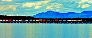 Lake Pend Oreille Prints - Long Load Print by Benjamin Yeager