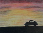 Vw Beetle Originals - Long Strange Trip by Thomasina Durkay