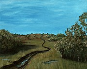 Long Trail Print by Anastasiya Malakhova