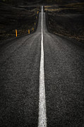 Road Art - Long Way To Nowhere by Evelina Kremsdorf