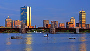 Boston North End Prints - Longfellow Bridge Print by Joann Vitali