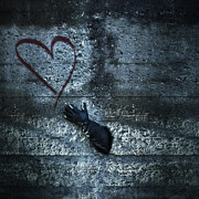 Graffiti Photos - Longing For Love by Joana Kruse