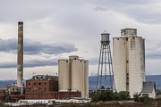 Abandoned Buildings Prints - Longmont Sugar Mill Print by Aaron Spong