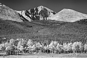 James BO  Insogna - Longs Peak a Colorado Playground In Black and White
