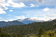 Kaypickens.com Prints - Longs Peak Print by Kay Pickens