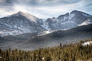 James BO  Insogna - Longs Peak Winter View