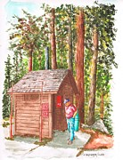 Yosemite Painting Originals - Loo in Porkupine Flat - Yosemite National Park - California by Carlos G Groppa