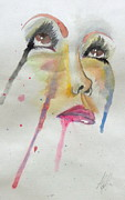 Drip Paintings - Look by Ally Berkowitz