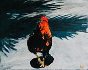 Asphalt Paintings - Look at my beautiful cock. by Nathan Whitaker
