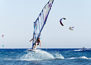 Surf Lifestyle Metal Prints - Look No Hands Metal Print by Stylianos Kleanthous