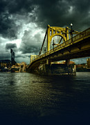 Clemente Prints - Looking Back At The Clemente Bridge Print by Jimmie Sides III